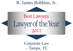 2017 Best Lawyer of the Year - Jim Robbins