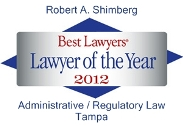 Best Lawyers 2012 logo R Shimberg