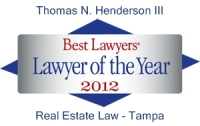 Best Lawyers 2012 logo T Henderson