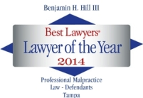 Best Lawyers 2014 logo B Hill III