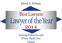Best Lawyers 2014 logo D Felman