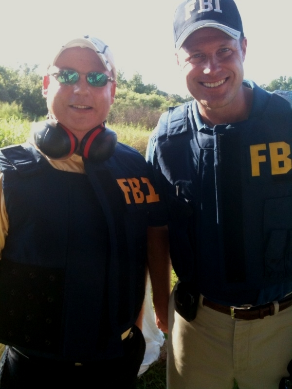 Mark Hall and an FBI Agent